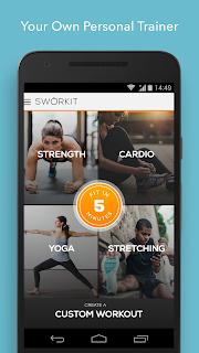 Sworkit Personalized Workouts screenshot 00