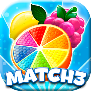 Juicy Fruits Jam Match 3 - Fruits Matching Games