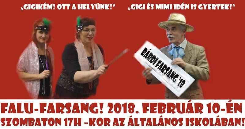 Farsangi mulatság 2018. február 10