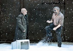 Photo: Wien/ Akademietheater: JOHN GABRIEL BORKMAN von Henrik Ibsen. Inszenierung: Simon Stone, Premiere am 28.5.2015. Martin Wuttke, Roland Koch. Copyright: Barbara Zeininger