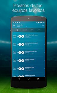 A qué hora juega - Resultados de Fútbol en Vivo - náhled