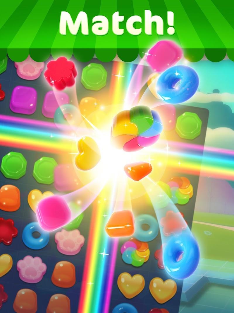 Jellipop Match: Open your dream shop! Screenshot 6