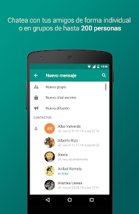 Plus Messenger Screenshot