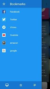 Pluto browser - náhled
