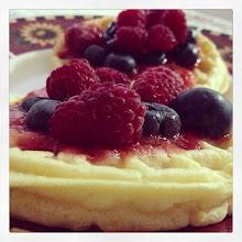 Photo: Waffles & fresh fruits #intercer #waffles #fruit #fruits #breakfast #berries #berry #blueberry #raspberry #fresh #veggie #vegan #healthy #hungry #yummy #yum #plate - via Instagram, http://instagram.com/p/b_pUc9pfiM/