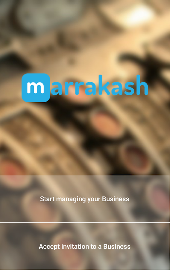 Marrakash POS- screenshot
