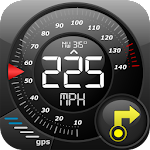 GPS Speedometer Altimeter + Icon