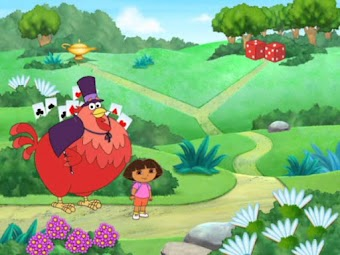 The Big Red Chicken's Magic Wand