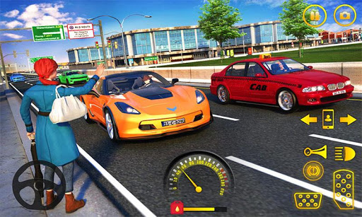 Yellow Cab American Taxi Driver 3D: New Taxi Games  screenshots 4