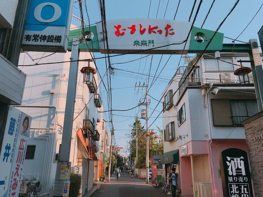 武蔵新田未来門