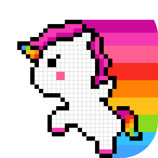 Pixel paint by Number, Coloring Book