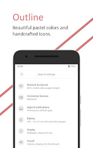 [Substratum] Outline Theme v27 Unreleased [Patched] APK 1