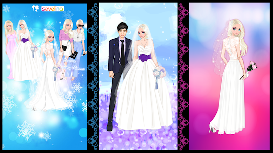 ❄ Icy Wedding ❄ Winter frozen Bride dress up game 1