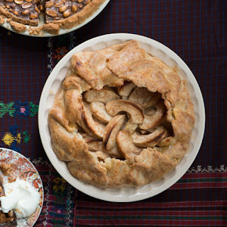 Spiced Apple Pie with Cheddar Crust