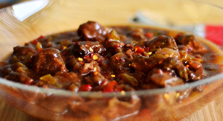 Slow Cookers Ginger Beef and Pepper Stew Recipe