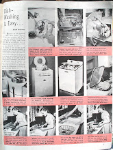 Photo: It appears that initially, most dishwashers were top loaders.