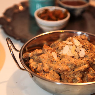 Chicken Korma with Poppy Seeds