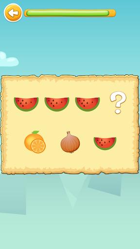 Carakuato frutas y verduras - juegos para niños capturas de pantalla 4