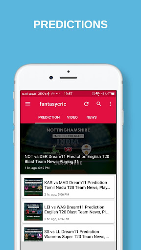 fantasycric- dream11 pro team prediction and tips 1.0 screenshots 2