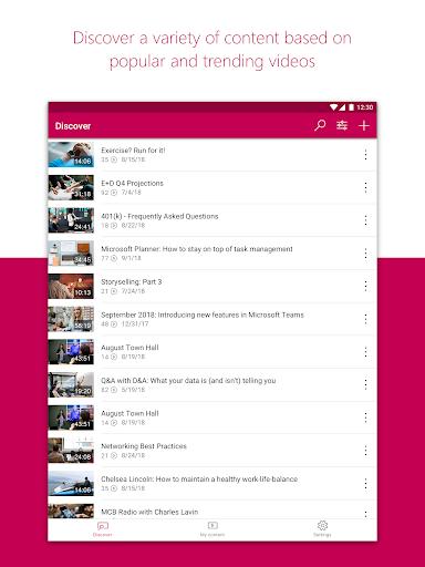 Microsoft Stream screenshot 6
