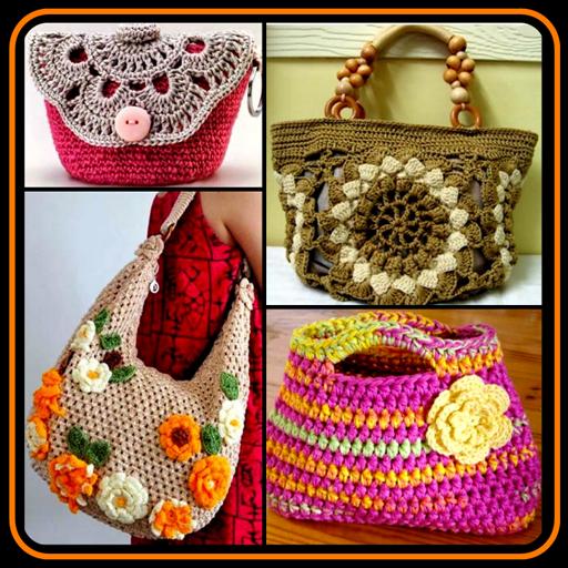 DIY Crochet Bags Purse Stitch Patterns Knitte Idea
