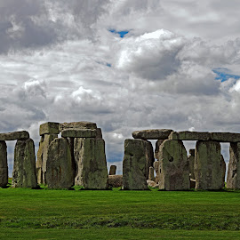 Stonehenge HDR by Ingrid Anderson-Riley - Buildings & Architecture Public & Historical