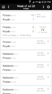 Baseball Schedule for Pirates: Live Scores & Stats - náhled