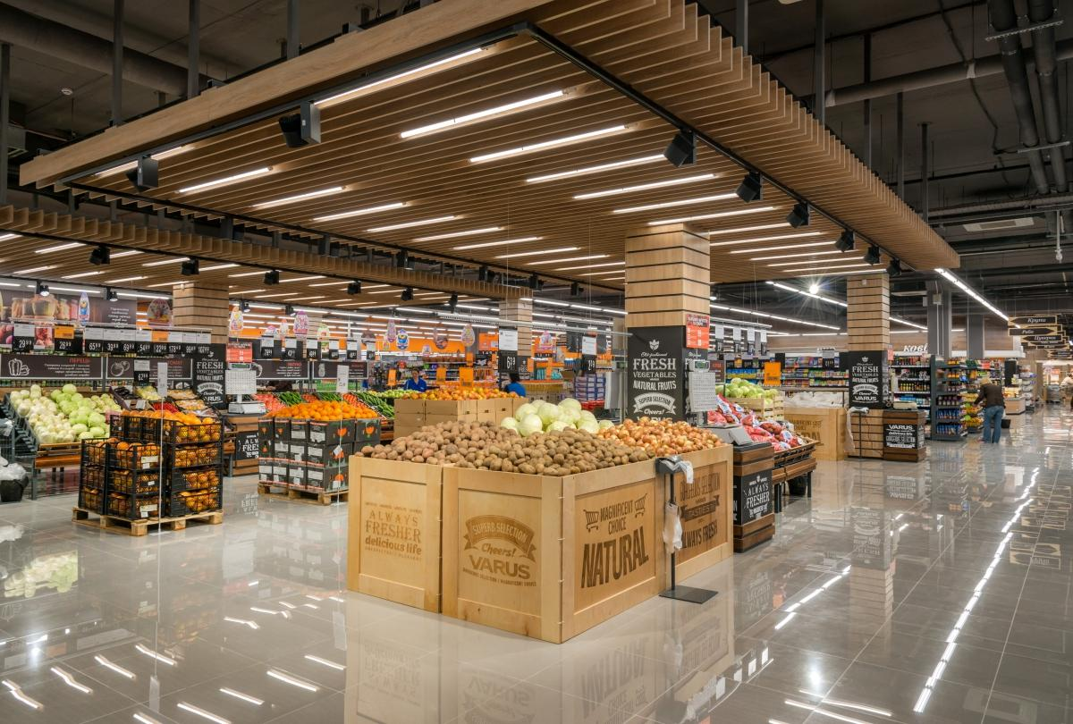 VARUS открыл 60-ый супермаркет   VARUS