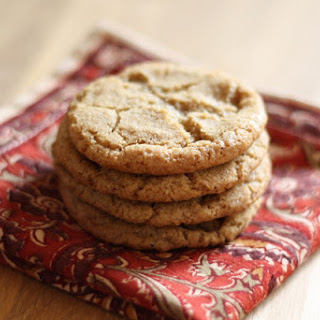 Hot Buttered Rum Cookies.