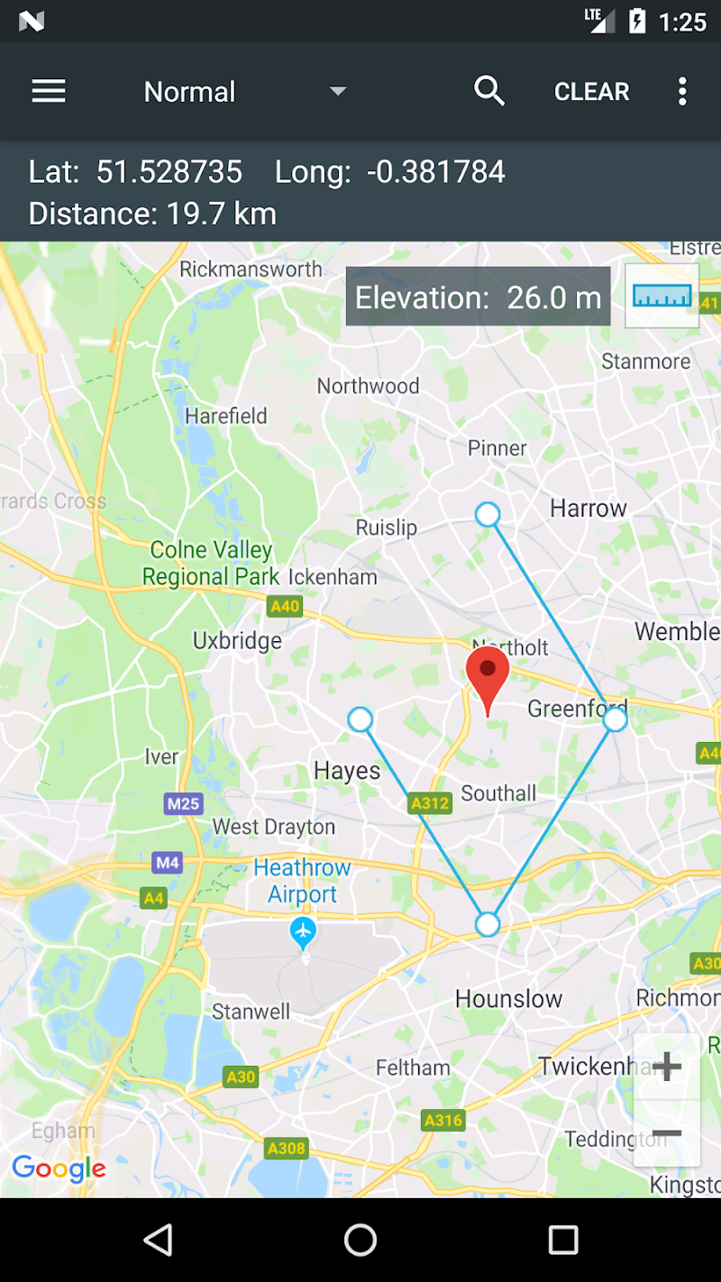 Map Coordinates Screenshot 4