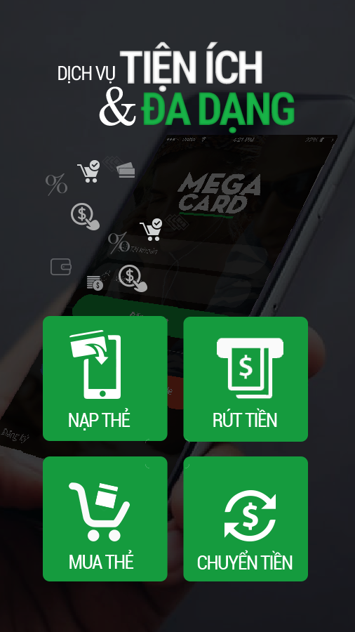 MegaCard- screenshot