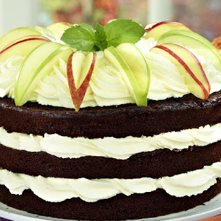 Chocolate Spiced Apple Cake
