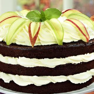 Chocolate Spiced Apple Cake.
