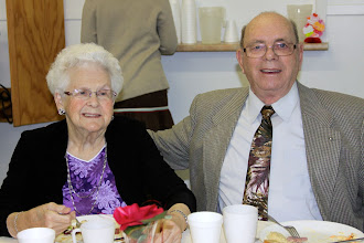 Photo: Sunday, Feb 17/13 - Margaret and Bob (R.M.) McIsaac