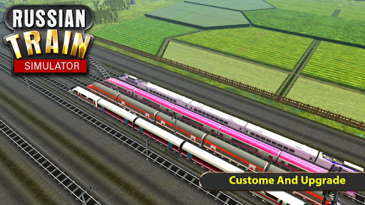Russian Train Simulator 2019 captures d'u00e9cran 1