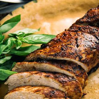 Maple Chili Pork Tenderloin.