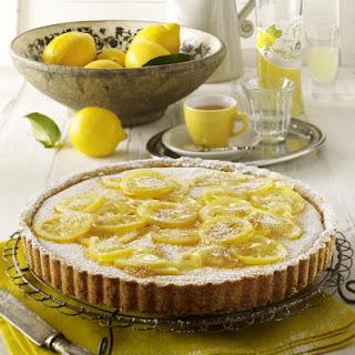 Ricotta Lemon Tart