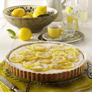 Ricotta Lemon Tart.