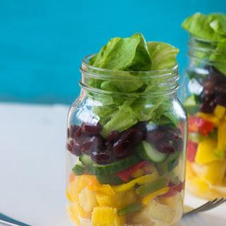 Tropical Mason Jar Salad Recipe