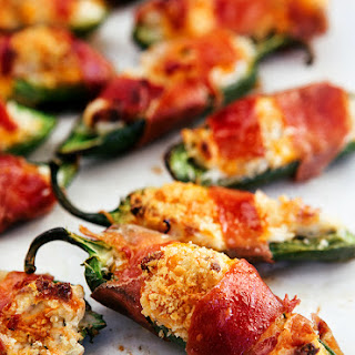 Crispiest Baked Jalapeno Poppers (Video).