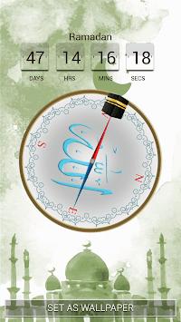 Qibla Compass Live Wallpaper Poster