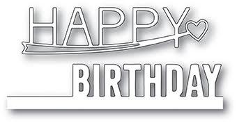 Poppystamps Die - Happy Birthday Combo
