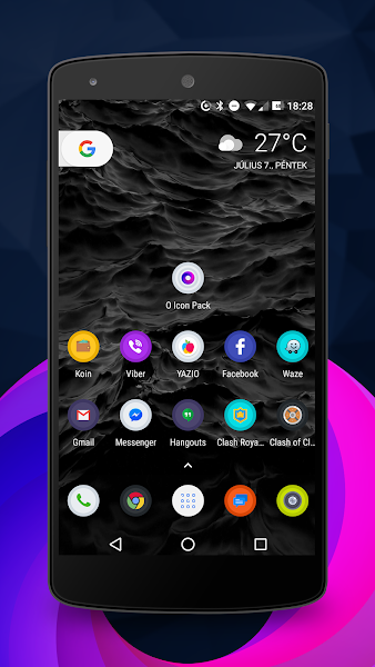 Android O icon pack v1.4.5