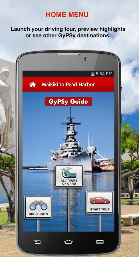 Pearl Harbor GyPSy Drive Tour- screenshot