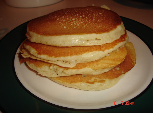 Light As Air Pancakes For Two Recipe