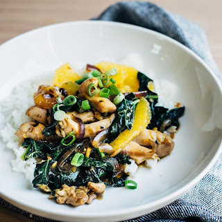 Orange Chicken and Kale Stir-Fry Recipe