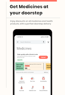 1mg – Online Medical Store & Healthcare App Download For Android and iPhone 3