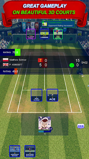 The Tennis Game Breakers - Ultimate Tennis Manager 1.0 screenshots 1