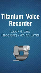Titanium Voice Recorder - náhled