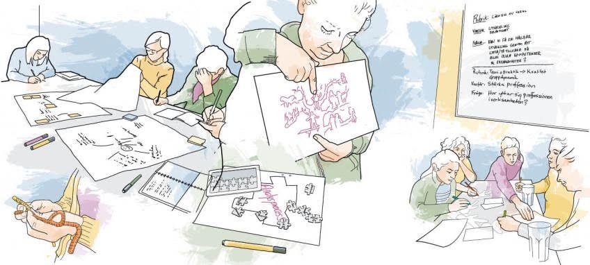 Att genomföra handledning av ögonblicksforskning i coronatider